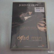 Libros de segunda mano: (2B-0) - 1 X DVD / DEAD MAN - JOHNNY DEPP / JIM JARMUSCH. Lote 194327145