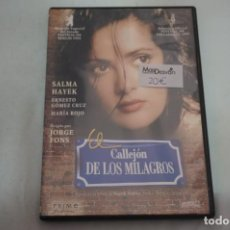 Libros de segunda mano: (2B-0) - 1 X DVD / CALLEJON DE LOS MILAGROS - SALMA HAYEK / JORGE FONS. Lote 194327527