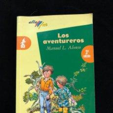 Libros de segunda mano: LOS AVENTUREROS - EDITORIAL BRUÑO. Lote 194329989