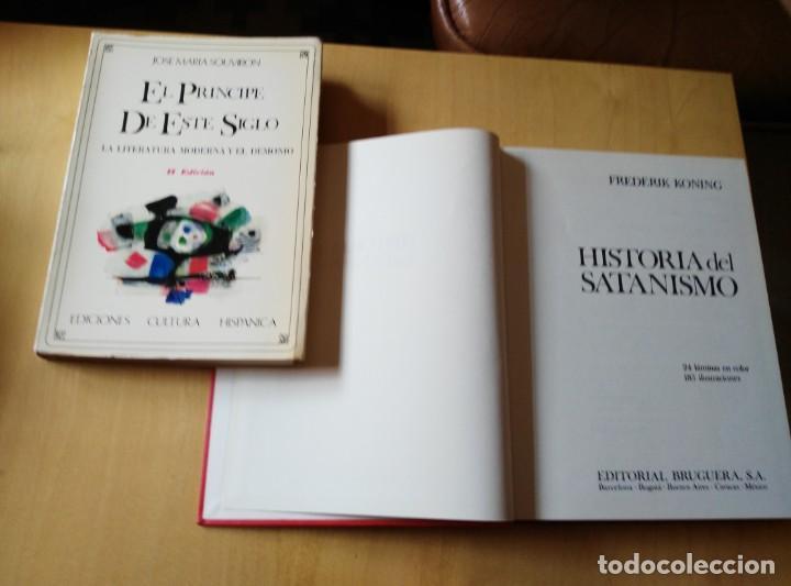 SATANISMO, LIBROS SATANICOS. ENSAYO (Libros de Segunda Mano - Parapsicología y Esoterismo - Otros)