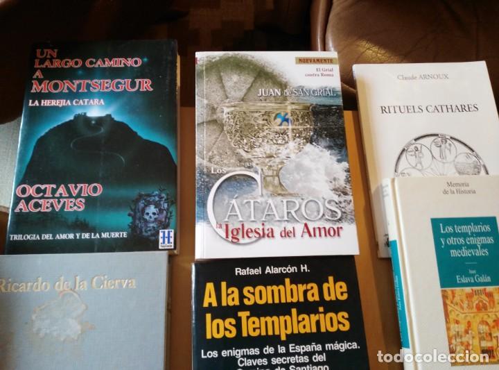 Libros de segunda mano: LIBROS DE TEMPLARIOS Y CÁTAROS (10). HAY 3 EN FRANCÉS. - Foto 2 - 194332301