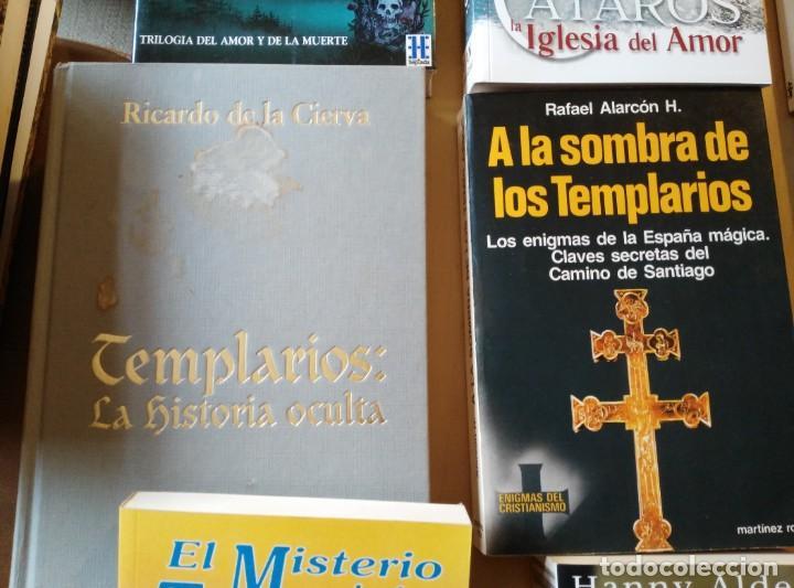 Libros de segunda mano: LIBROS DE TEMPLARIOS Y CÁTAROS (10). HAY 3 EN FRANCÉS. - Foto 3 - 194332301