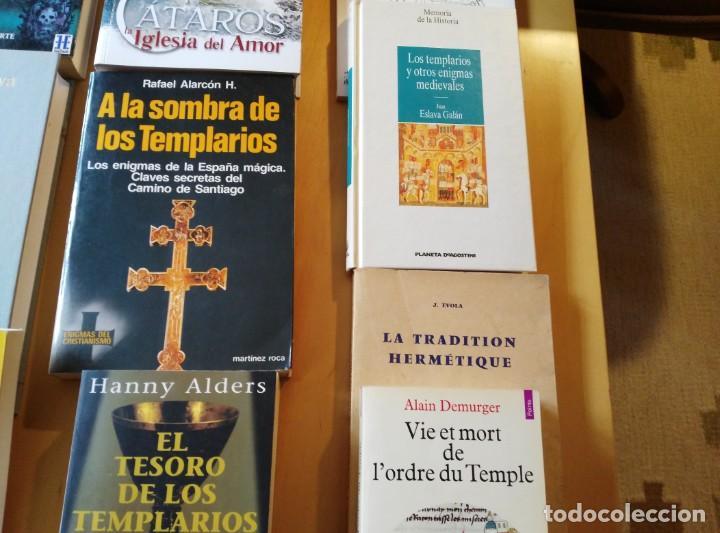 Libros de segunda mano: LIBROS DE TEMPLARIOS Y CÁTAROS (10). HAY 3 EN FRANCÉS. - Foto 4 - 194332301