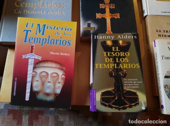 Libros de segunda mano: LIBROS DE TEMPLARIOS Y CÁTAROS (10). HAY 3 EN FRANCÉS. - Foto 5 - 194332301