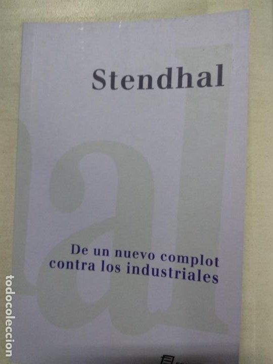 DE UN NUEVO COMPLOT CONTRA LOS INDUSTRIALES. - STENDHAL. (Libros de Segunda Mano - Pensamiento - Otros)