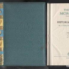 Libros de segunda mano: HISTORIA DE ROMA. 2 TOMOS. BIBLIOTECA PREMIOS NOBEL - MOMMSEN, THEODOR - A-H-1183. Lote 194336360