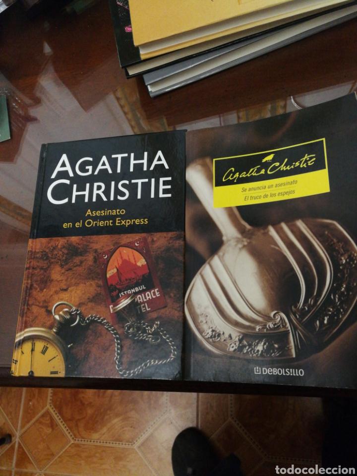 LOTE 2 TÍTULOS ÁGHATA CHRISTIE (Libros de Segunda Mano (posteriores a 1936) - Literatura - Otros)