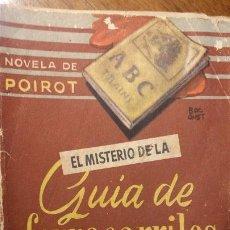 Libros de segunda mano: BIBLIOTECA ORO BOLSILLO. Nº 36. EL MISTERIOR DE LA GUÍA DE FERROCARRILES. AGATHA C. MOLINO. Lote 194339766