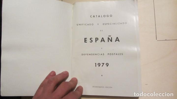 """Libros de segunda mano: """"ESPAÑA Y DEPENDENCIAS POSTALES 1979 CATALOGO UNIFICADO ESPECIALIZADO"""" - Foto 2 - 194346147"""