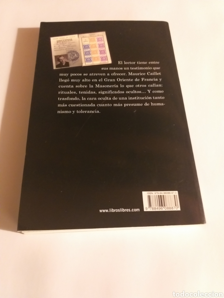 Libros de segunda mano: Yo fui Mason . Maurice Caillet. - Foto 5 - 194348382