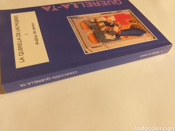 Libros de segunda mano: La querella de las mujeres I . Análisis de textos . Cristina segura .. pensamiento ensayo - Foto 2 - 194349086