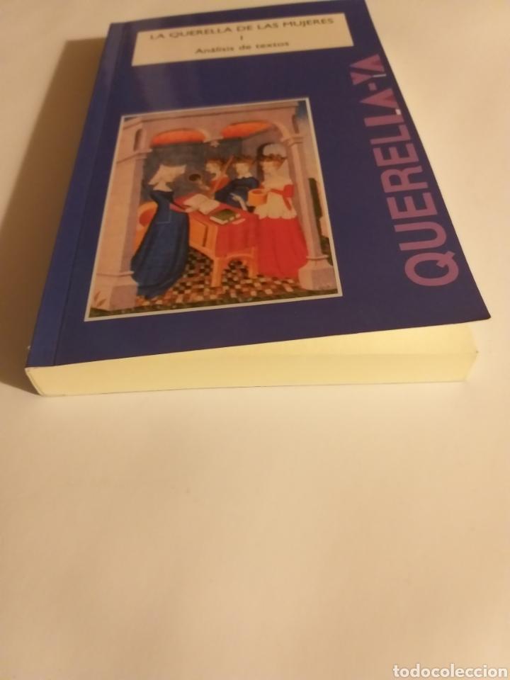 Libros de segunda mano: La querella de las mujeres I . Análisis de textos . Cristina segura .. pensamiento ensayo - Foto 3 - 194349086
