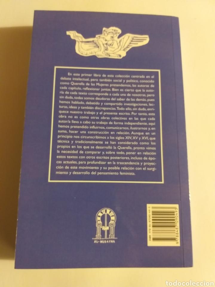 Libros de segunda mano: La querella de las mujeres I . Análisis de textos . Cristina segura .. pensamiento ensayo - Foto 4 - 194349086