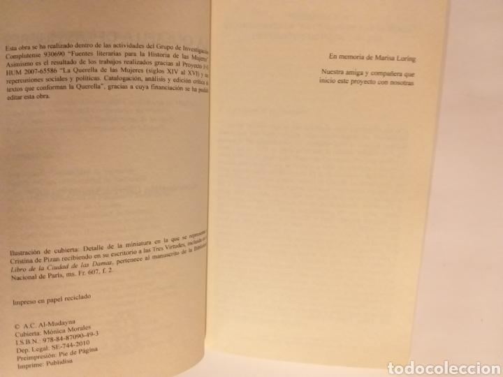 Libros de segunda mano: La querella de las mujeres I . Análisis de textos . Cristina segura .. pensamiento ensayo - Foto 6 - 194349086
