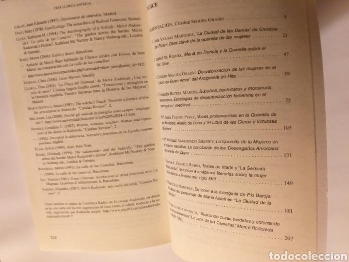 Libros de segunda mano: La querella de las mujeres I . Análisis de textos . Cristina segura .. pensamiento ensayo - Foto 8 - 194349086