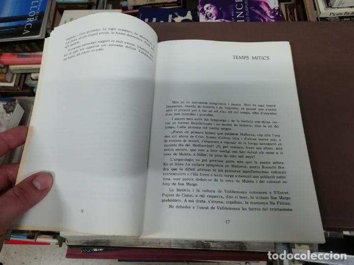 Libros de segunda mano: VALLDEMOSSA . UNA HISTÒRIA / UNA CULTURA / UN POBLE . SEBASTIÀ TRIAS. 1980. MALLORCA . POSSESSIONS.. - Foto 3 - 194350885