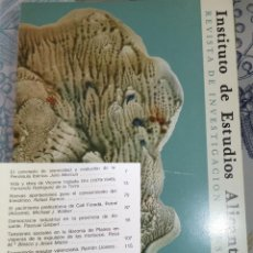 Libros de segunda mano: REVISTA DE ESTUDIOS ALICANTINOS N.º 32 1981 ENEOLITICO CATI FORADA BARONIA PLANES . Lote 194352113