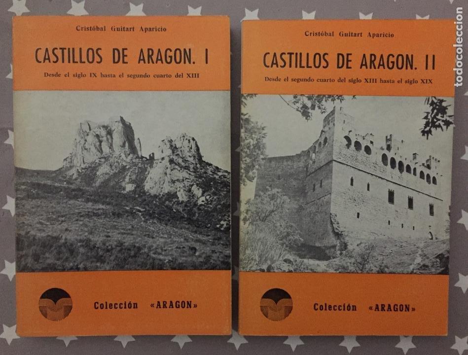 CASTILLOS DE ARAGON TOMOS 1 Y 2, COLECCION ARAGON (Libros de Segunda Mano - Historia - Otros)