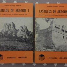 Libros de segunda mano: CASTILLOS DE ARAGON TOMOS 1 Y 2, COLECCION ARAGON. Lote 194353288