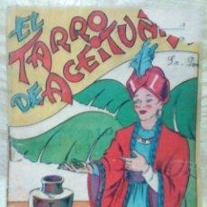 Libros de segunda mano: EL TARRO DE ACEITUNAS LOS CUENTOS DE LA ABUELA PINTADOS POR EL NIETO ED. CASTALIA. Lote 194348112