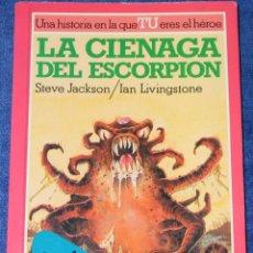 Libros de segunda mano: LA CIÉNAGA DEL ESCORPIÓN - - LUCHA FICCIÓN Nº 8 - ALTEA JUNIOR (1984). Lote 194356173