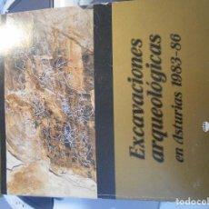 Libros de segunda mano: EXCAVACIONES ARQUEOLOGICAS EN ASTURIAS 1983 - 86. RUSTICA. GRAN FORMATO. 199 PAGINAS. ILUSTRACIONES.. Lote 194367836