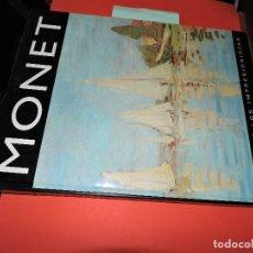 Libros de segunda mano: MONET. COL. LA ERA DE LOS IMPRESIONISTAS. ED. GLOBUS. MADRID 1994. Lote 194369768
