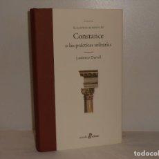 Libros de segunda mano: CONSTANCE / EL QUINTETO DE AVIÑÓN (III), LAWRENCE DURRELL - EDHASA - MUY BUEN ESTADO. Lote 194376470
