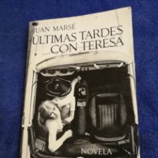 Libros de segunda mano: ULTIMAS TARDES CON TERESA. PREMIO BIBLIOTECA BREVE 1965. JUAN MARSE. NOVELA. Lote 194382605