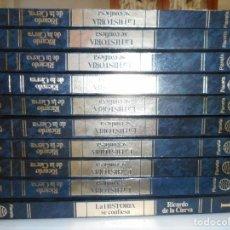 Libros de segunda mano: RICARDO DE LA CIERVA LA HISTORIA SE CONFIESA (10 TOMOS) Y98776T. Lote 194389851