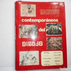 Libros de segunda mano: VV.AA MAESTROS CONTEMPORÁNEOS DEL DIBUJO TOMO VI Y98789T. Lote 194392366