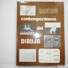 Libros de segunda mano: VV.AA MAESTROS CONTEMPORÁNEOS DEL DIBUJO TOMO V Y98790T. Lote 194392466