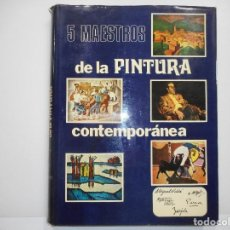 Libros de segunda mano: VV.AA 5 MAESTROS DE LA PINTURA CONTEMPORÁNEA. TOMO II Y98792T. Lote 194392712