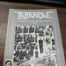 Libros de segunda mano: TABANQUE. REVISTA CIENTIFICO-PEDAGOGICA. UNIVERSIDAD PALENCIA. DICIEMBRE 1986 Nº 2. . Lote 194397502