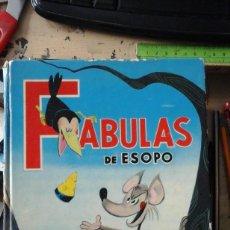 Libros de segunda mano: FÁBULAS DE ESOPO. LIBRO ILUSTRADO PARA NIÑOS (MADRID, 1965) ILUSTRADO POR MORDILLO. Lote 194399617