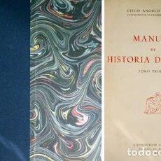 Libros de segunda mano: ANGULO IÑIGUEZ, DIEGO. MANUAL DE HISTORIA DEL ARTE. 2 VOLS. 1954.. Lote 194400088