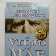 Libros de segunda mano: EL VIEJO Y EL MAR. HEMINGWAY. Lote 194401145