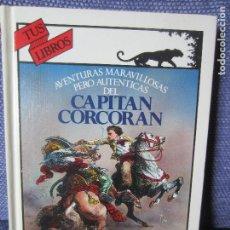 Libros de segunda mano: AVENTURAS MARAVILLOSAS..DEL CAPITAN CORCORAN-TUS LIBROS ANAYA 110. Lote 194402940