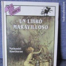 Libros de segunda mano: UN LIBRO MARAVILLOSO-NATHANIEL HAWTHORNE-TUS LIBROS ANAYA 163. Lote 194403191