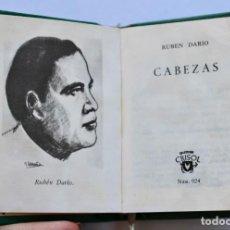 Libros de segunda mano: CABEZAS - RUBEN DARIO -CRISOL Nº024 1966 TOLLE LEGE (8,2 X 6,7 CM). Lote 194405868
