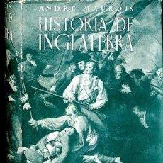 Libros de segunda mano: HISTORIA DE INGLATERRA - ANDRE MAUROIS - EDITORIAL SURCO. Lote 194429915