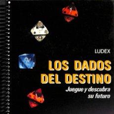 Libros de segunda mano: LOS DADOS DEL DESTINO JUEGUE Y DESCUBRA SU FUTURO - LUDEX - MR EDICIONES - FONTANA PRÁCTICA. Lote 194487556