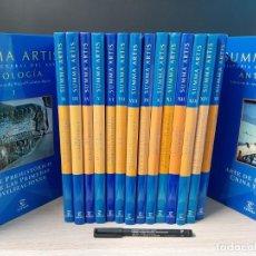 Libros de segunda mano: SUMMA ARTIS, HISTORIA GENERAL DEL ARTE, 16 VOLUMENES. Lote 194491946
