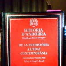 Libros de segunda mano: HISTORIA D'ANDORRA . Lote 194496095