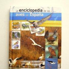 Libros de segunda mano: LA ENCICLOPEDIA DE LAS AVES DE ESPAÑA - FUNDACIÓN BBVA SEO/BIRDLIFE 2008 - INCLUYE DVD. Lote 194496870