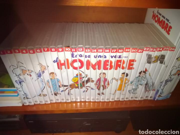 Libros de segunda mano: ÉRASE UNA VEZ...EL HOMBRE. COLECCIÓN DE 26 DVDS Y LIBROS. - Foto 4 - 194497098