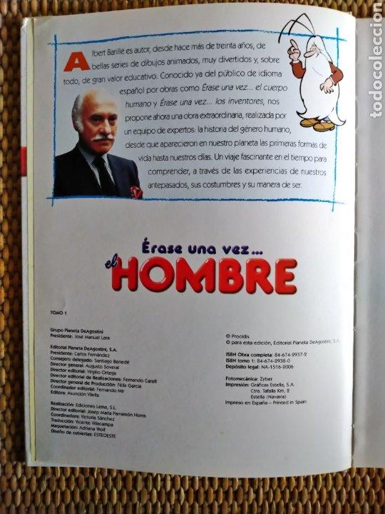 Libros de segunda mano: ÉRASE UNA VEZ...EL HOMBRE. COLECCIÓN DE 26 DVDS Y LIBROS. - Foto 6 - 194497098
