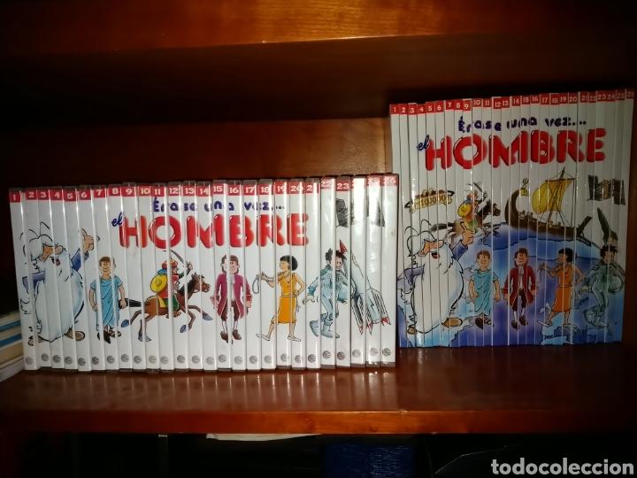 ÉRASE UNA VEZ...EL HOMBRE. COLECCIÓN DE 26 DVD'S Y LIBROS. (Libros de Segunda Mano - Literatura Infantil y Juvenil - Otros)