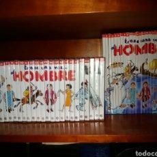 Libros de segunda mano: ÉRASE UNA VEZ...EL HOMBRE. COLECCIÓN DE 26 DVD'S Y LIBROS.. Lote 194497098