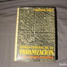 Libros de segunda mano: TEORÍA GENERAL DE LA URBANIZACIÓN. REFORMA Y ENSANCHE DE BARCELONA. ILDEFONSO CERDÁ. TOMO III. Lote 194497471